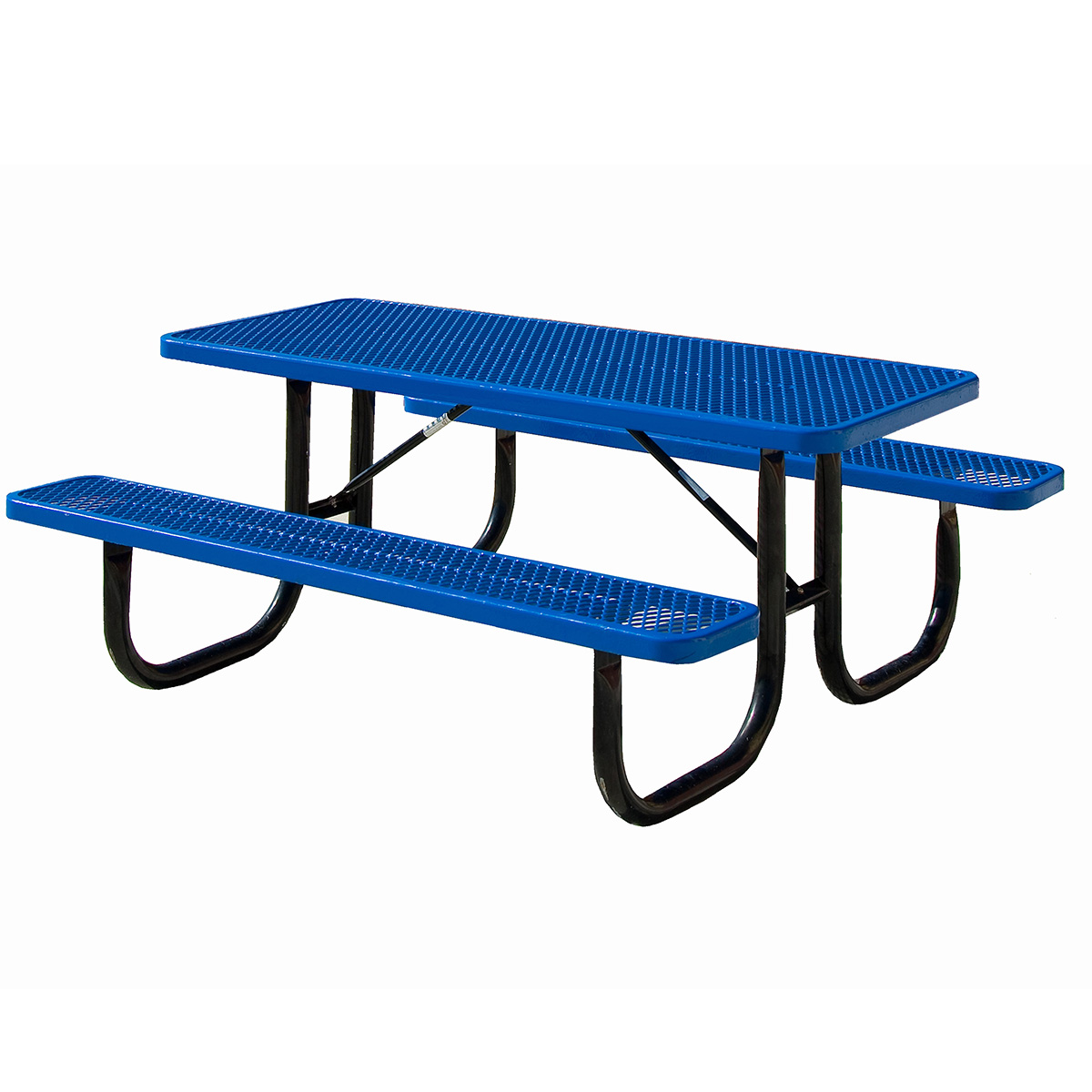 Expanded Metal Tables Expanded Metal Picnic Table